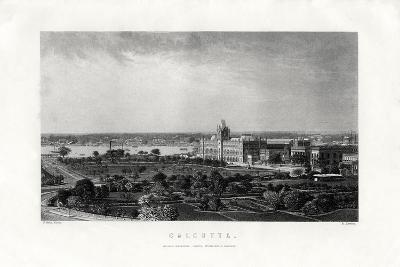 Calcutta, Capital of the Indian State of West Bengal, India, 19th Century-R Dawson-Giclee Print