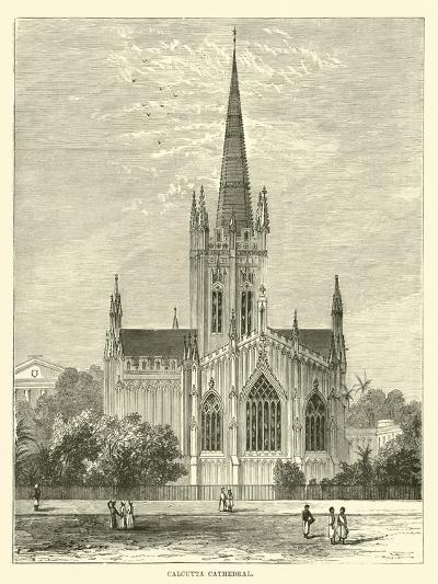 Calcutta Cathedral--Giclee Print