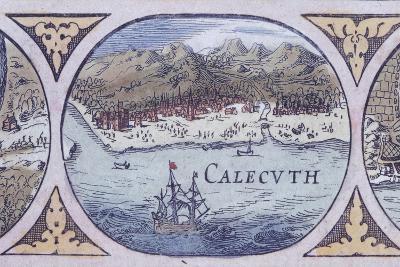 Calcutta from Historic Atlas--Giclee Print