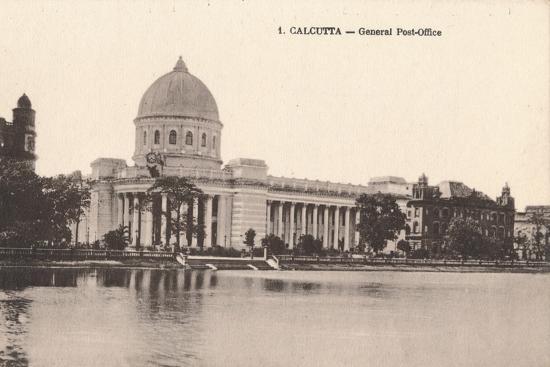 'Calcutta - General Post-Office', c1900-Unknown-Photographic Print