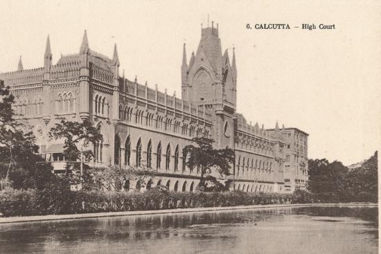 'Calcutta - High Court', c1900-Unknown-Photographic Print