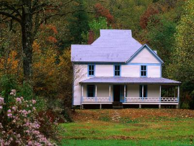 Caldwell House, Cataloochee, Great Smoky Mountains National Park, Tennessee-John Elk III-Photographic Print