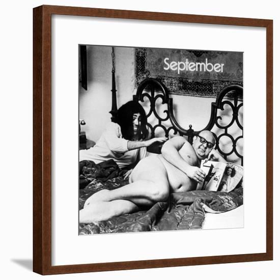 Calendar Photo Copied by Alfred Eisenstaedt-Alfred Eisenstaedt-Framed Photographic Print