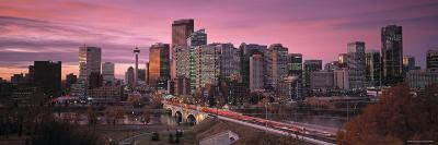 Calgary, Alberta, Canada-Walter Bibikow-Photographic Print
