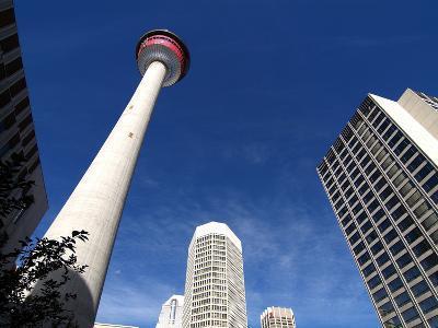 Calgary Tower, Calgary, Alberta, Canada, North America-Hans Peter Merten-Photographic Print