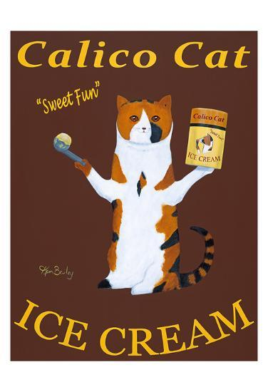 Calico Cat Ice Cream-Ken Bailey-Limited Edition