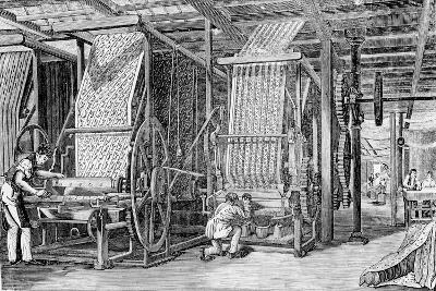 Calico Printing--Giclee Print
