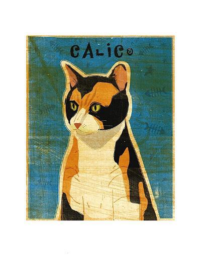 Calico-John Golden-Art Print