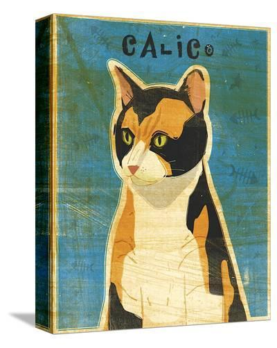Calico-John Golden-Stretched Canvas Print