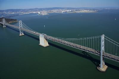 California, Bay Bridge, San Francisco Bay to Yerba Buena Island-David Wall-Photographic Print
