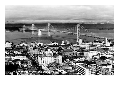 California: Bay Bridge--Giclee Print