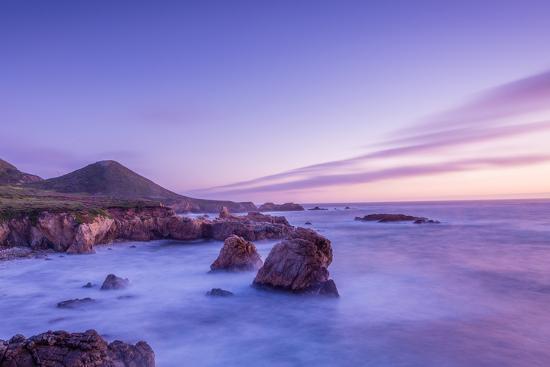 California Beach Sunset-rebelml-Photographic Print