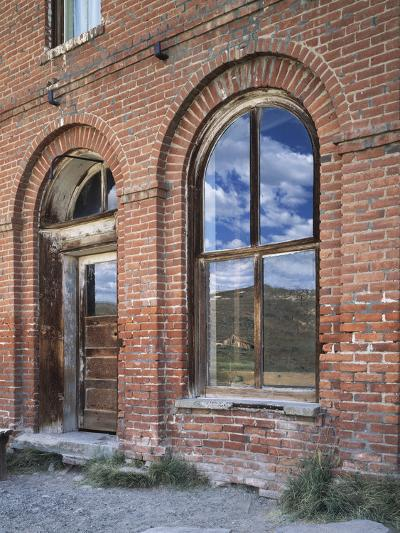 California, Bodie State Historic Park, Reflections in a Window-Christopher Talbot Frank-Photographic Print
