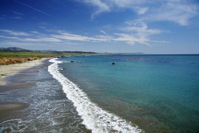 California Central Coast, San Simeon, William Randolph Hearst Memorial Beach-David Wall-Photographic Print