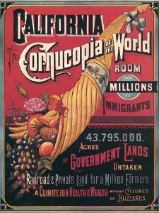 California , Cornucopia of the World, c.1880