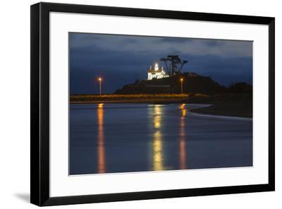 California, Crescent City, Battery Point Lighthouse-John & Lisa Merrill-Framed Premium Photographic Print