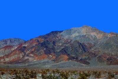 California, Death Valley. Landscape of the Mojave Desert-Kymri Wilt-Photographic Print