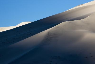 California. Death Valley National Park. Early Morning Light on Eureka Sand Dunes-Judith Zimmerman-Photographic Print