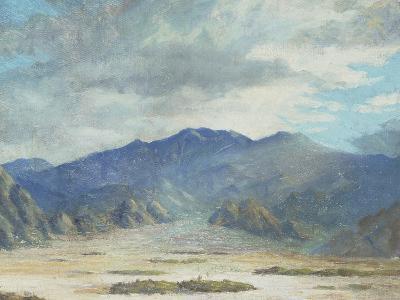 California Desert Scene-Harold Arthur Streator-Giclee Print