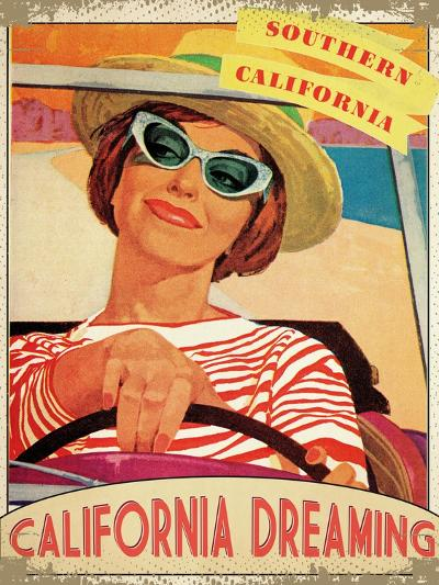 California Dreaming--Giclee Print