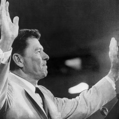 California Governor Ronald Reagan, Republican National Convention, Miami, Florida, August 1968--Photo