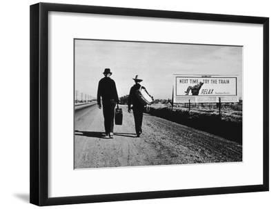 California Highway-Dorothea Lange-Framed Photographic Print
