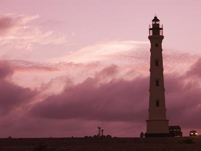 California Lighthouse, North End, Aruba, Caribbean-Walter Bibikow-Photographic Print