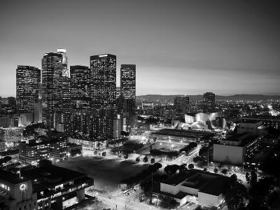 California, Los Angeles, Skyline of Downtown Los Angeles, USA-Michele Falzone-Photographic Print