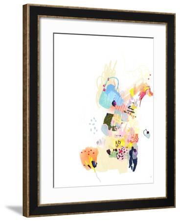 California Poppy-Niya Christine-Framed Art Print