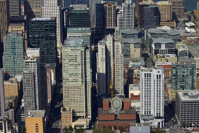 California, San Francisco, Skyscrapers around Mission Street-David Wall-Photographic Print