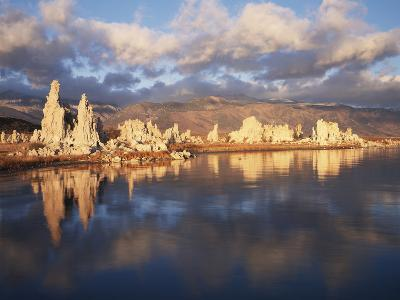 California, Sierra Nevada, Tufa Formations on Mono Lake-Christopher Talbot Frank-Photographic Print