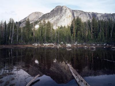California, Sierra Nevada, Yosemite National Park, Mts Reflecting in a Tarn-Christopher Talbot Frank-Photographic Print