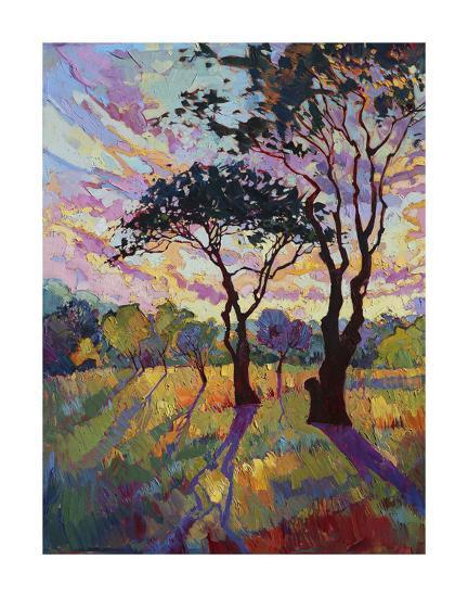 California Sky (bottom left)-Erin Hanson-Giclee Print