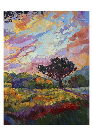 California Sky (bottom right)-Erin Hanson-Art Print