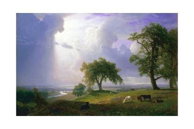 California Spring-Albert Bierstadt-Giclee Print