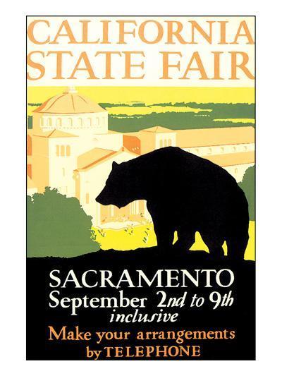 California State Fair, Sacramento--Art Print