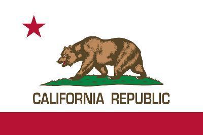 California State Flag-Bruce stanfield-Art Print