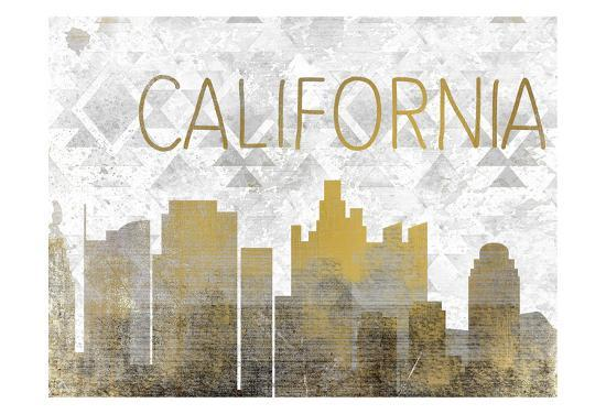California State-Kimberly Allen-Art Print