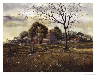 California Wildflowers - Spring Barn-Michael Humphries-Art Print