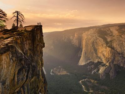 California, Yosemite National Park, Taft Point, El Capitan and Yosemite Valley, USA-Michele Falzone-Photographic Print