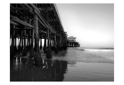 Californian Pier-Tracey Telik-Art Print