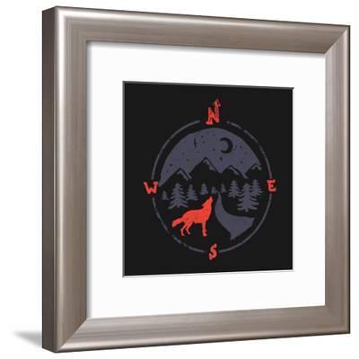 Call Of The North-NDTank-Framed Art Print