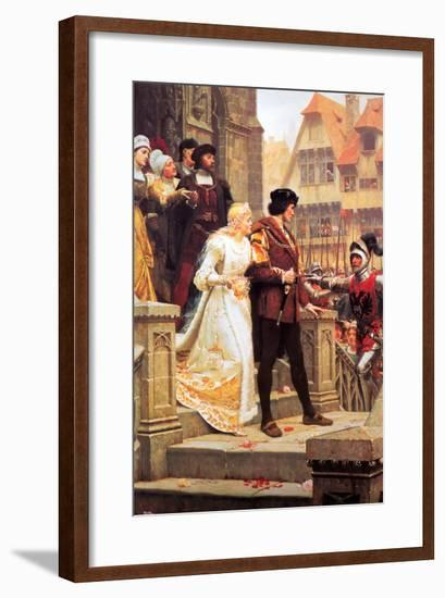 Call to Arms-Edmund Blair Leighton-Framed Art Print