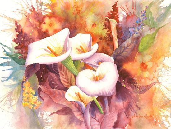 Calla Dance-Sunshine Taylor-Art Print