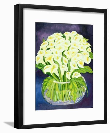 Calla Lilies, 1989-Laila Shawa-Framed Giclee Print