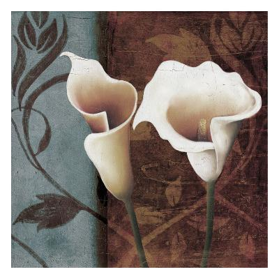 Calla Lily to The Right-Lucas Hunter-Art Print