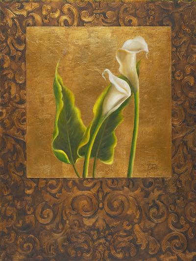 Calla Lily with Arabesque II-Patricia Pinto-Art Print