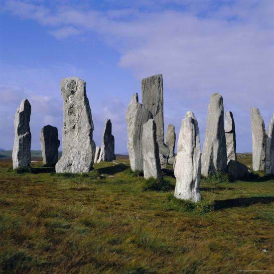 Callanish Standing Stones, Lewis, Outer Hebrides, Scotland, UK, Europe-Michael Jenner-Photographic Print