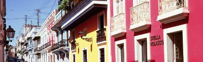 Calle De San Jose, San Juan, Puerto Rico--Photographic Print