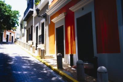Calle Del Sol, Old San Juan; Puerto Rico-George Oze-Photographic Print